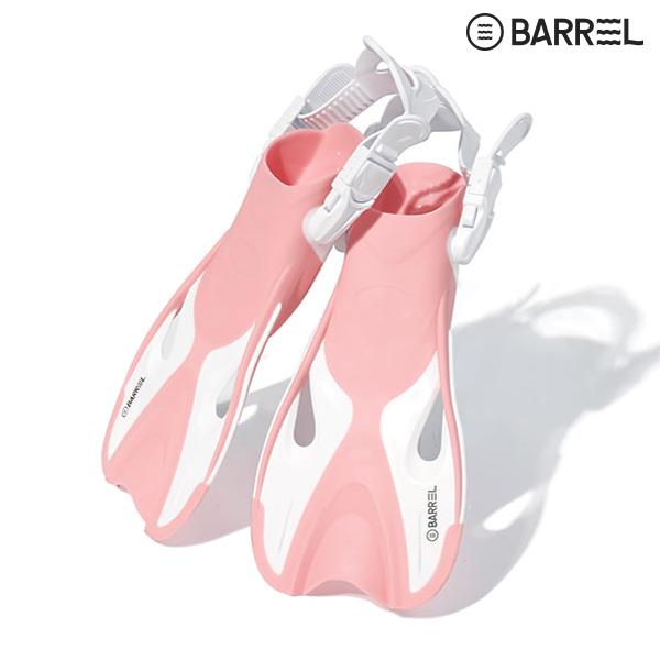 배럴 키즈 마리나 핀-브라이트 핑크 화이트