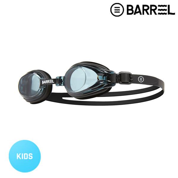 배럴 키즈 배럴 스윔 고글-블랙/블랙 주니어 수경