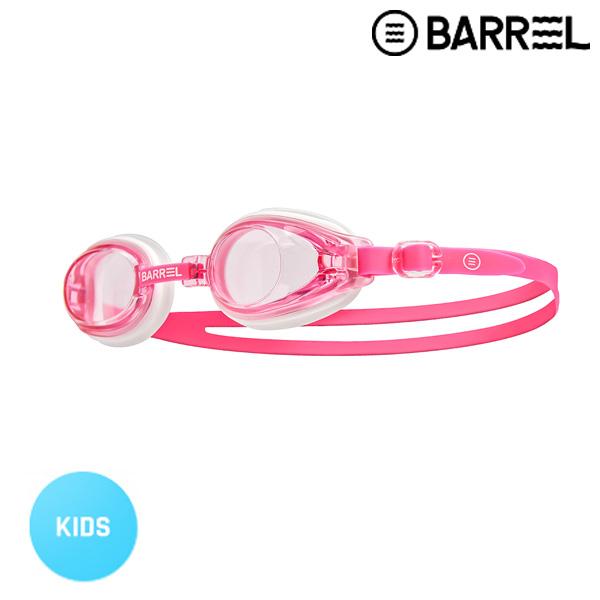 배럴 키즈 배럴 스윔 고글-핑크/네온 핑크 주니어 수경