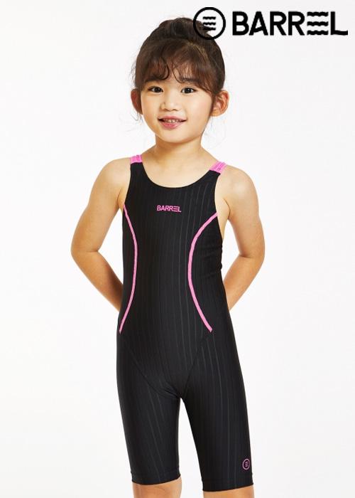 배럴 키즈 트레이닝 테크 스윔슈트-블랙 반전신 수영복