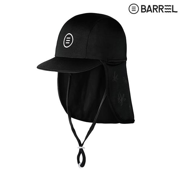 키즈 배럴 아쿠아캡 V3-블랙 물놀이 모자