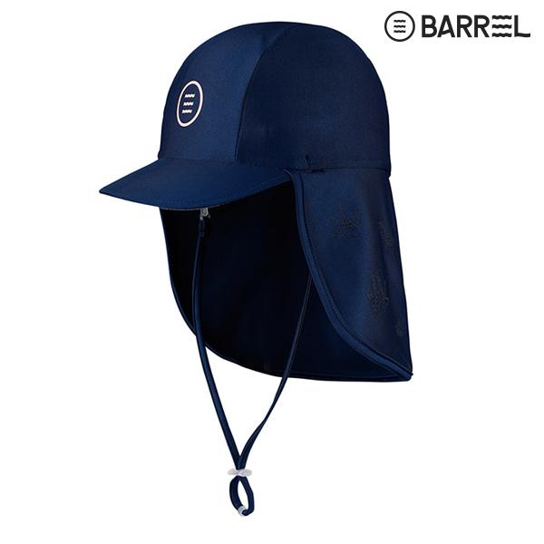 키즈 배럴 아쿠아캡 V3-네이비 브라이트핑크 물놀이 모자