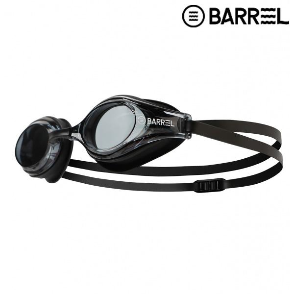 배럴 챌린저 스윔 고글-블랙 논미러/블랙 패킹 수경