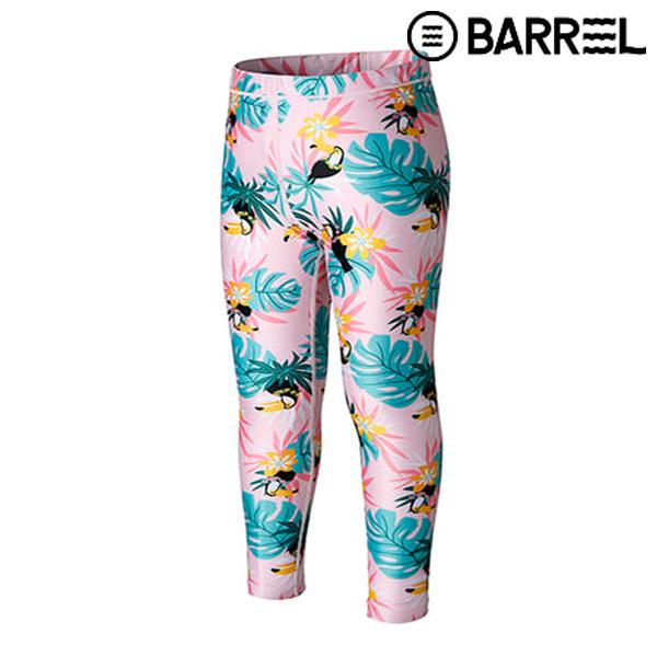 (배럴 아울렛)키즈 패턴 워터 레깅스-핑크투칸
