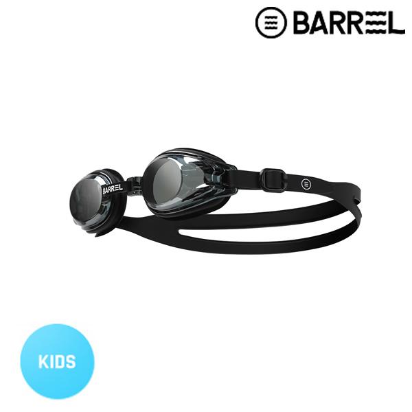 배럴 키즈 배럴 미러 스윔 고글-블랙 미러/블랙 주니어 수경
