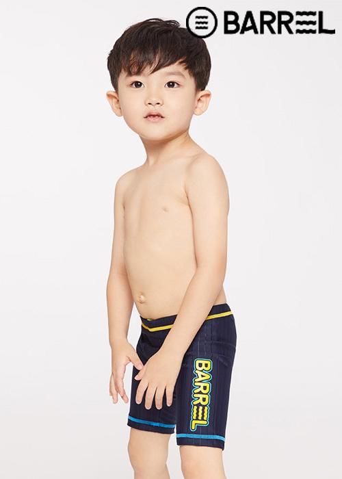배럴 키즈 트레이닝 스트로크 재머 스윔슈트-딥네이비 3부 수영복