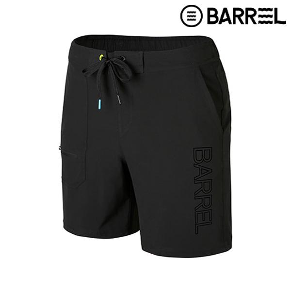 배럴 맨 포켓 보드숏-블랙