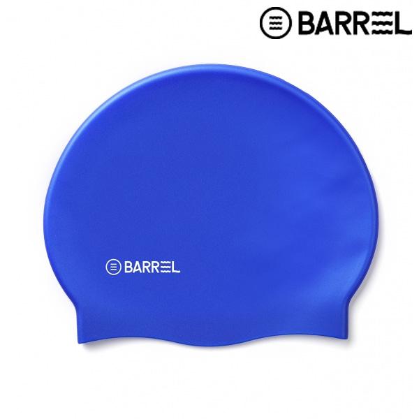 배럴 베이직 로고 스윔 캡-블루 실리콘 수모