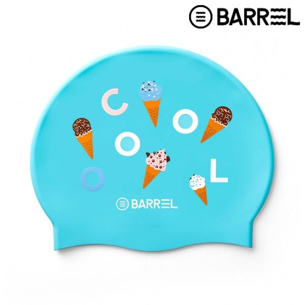 배럴 아이스크림 베이직 스윔 캡-민트 실리콘 수모
