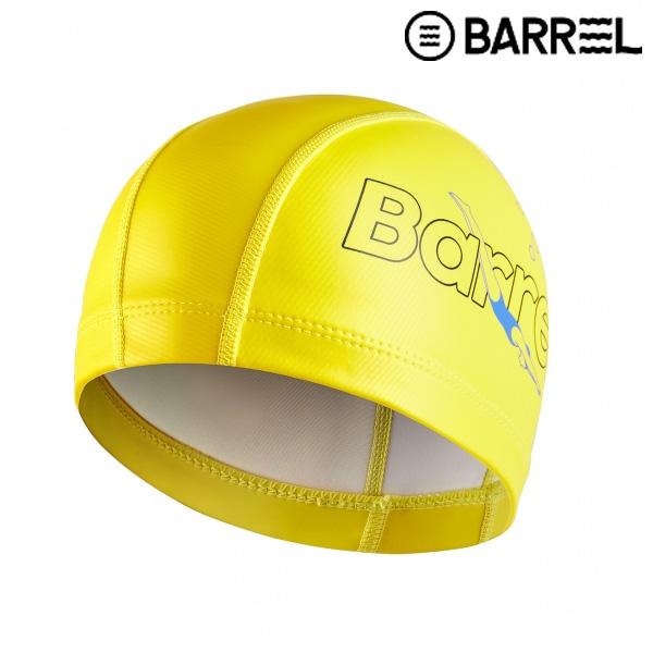 배럴 스위머 실리텍스 스윔 캡-옐로우 실리콘 코팅 수모