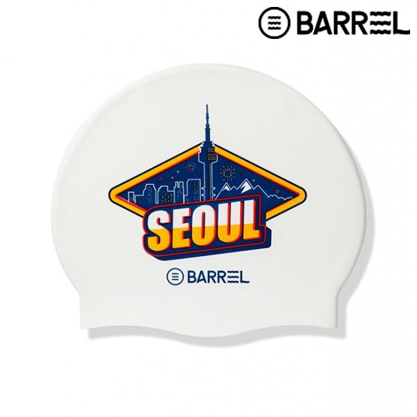 배럴 시티 스윔 캡-서울 실리콘 수모