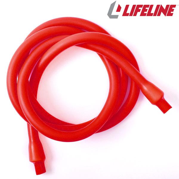 라이프라인피트니스 저항 케이블 152cm R6 빨강-RED