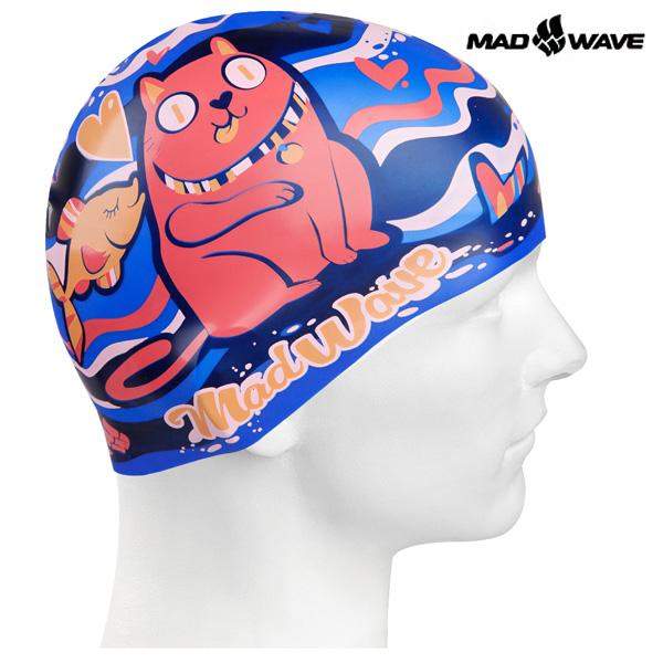 CAT&FISH (BLUE) MAD WAVE 실리콘 수모 주니어