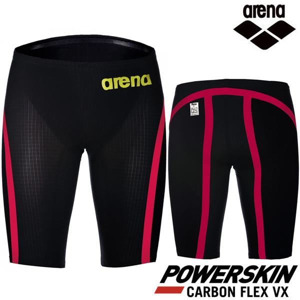 Arena Powerskin Carbon Flex VX 카본 플럭스 VX-BLKRED 경기용-스윔잭증정