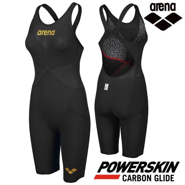 Arena Powerskin Carbon Glide Open Back 카본 글라이드 (오픈백)-BLK 경기용-스윔잭증정