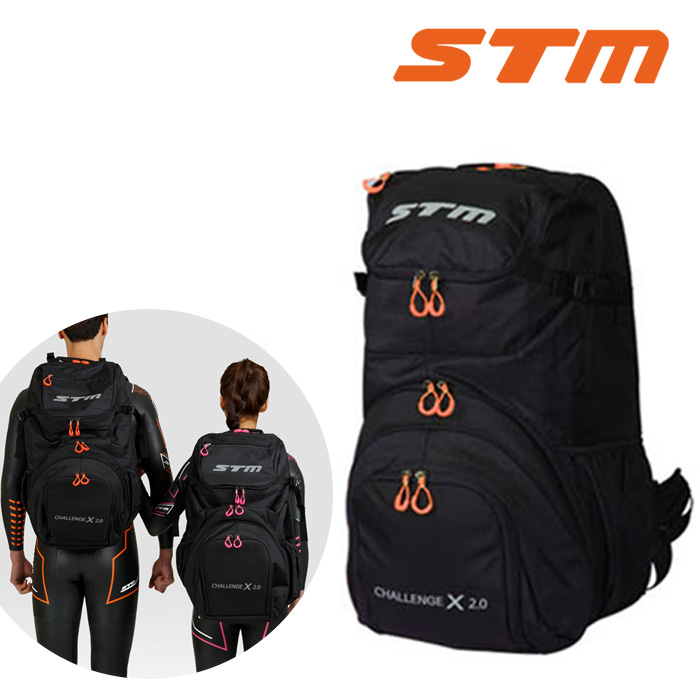 CHALLENGE BAG X 2.0-ORANGE STM 트라이애슬론 가방