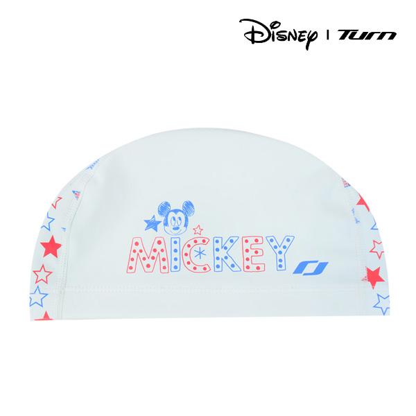 디즈니-턴 DKAAS51 (WHT) 아동 PU코팅 수모