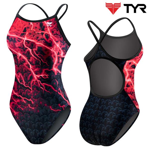DLL7A 610(RED) 티어 탄탄이 원피스 수영복