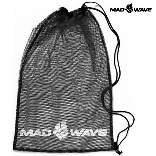 DRY MESH BAG(BLACK) MAD WAVE 메쉬 가방