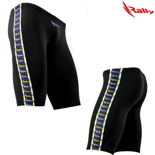DSMH307-BLK 랠리 RALLY 남자 5부 수영복