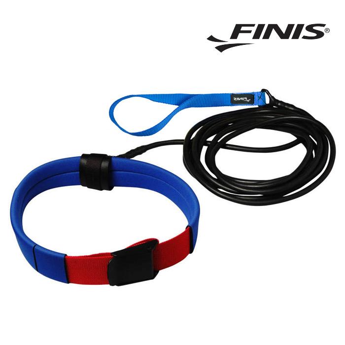 숏벨트 코드 FINIS 피니스 저항 훈련용 코드-파랑