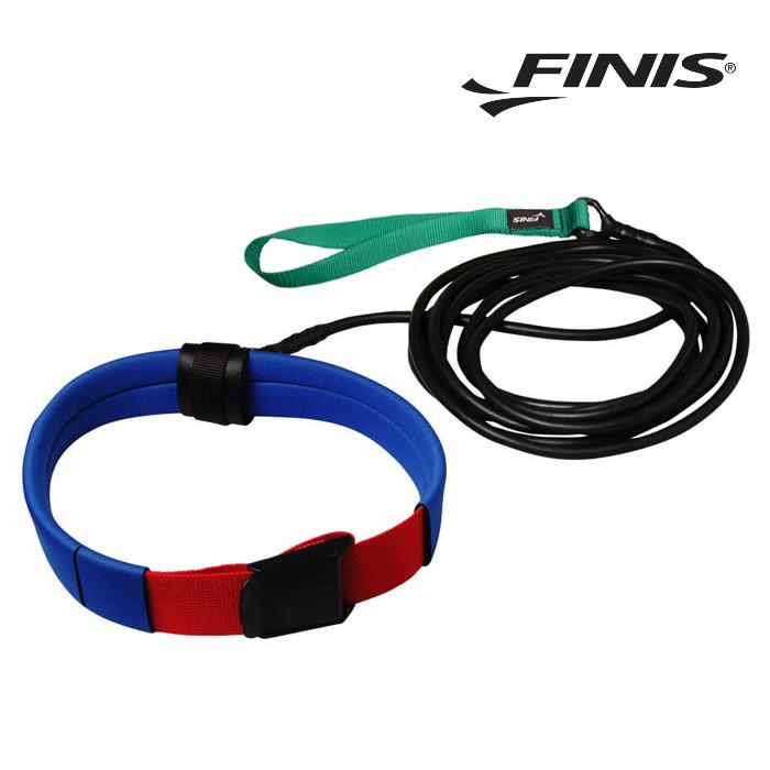 숏벨트 코드 FINIS 피니스 저항 훈련용 코드-초록