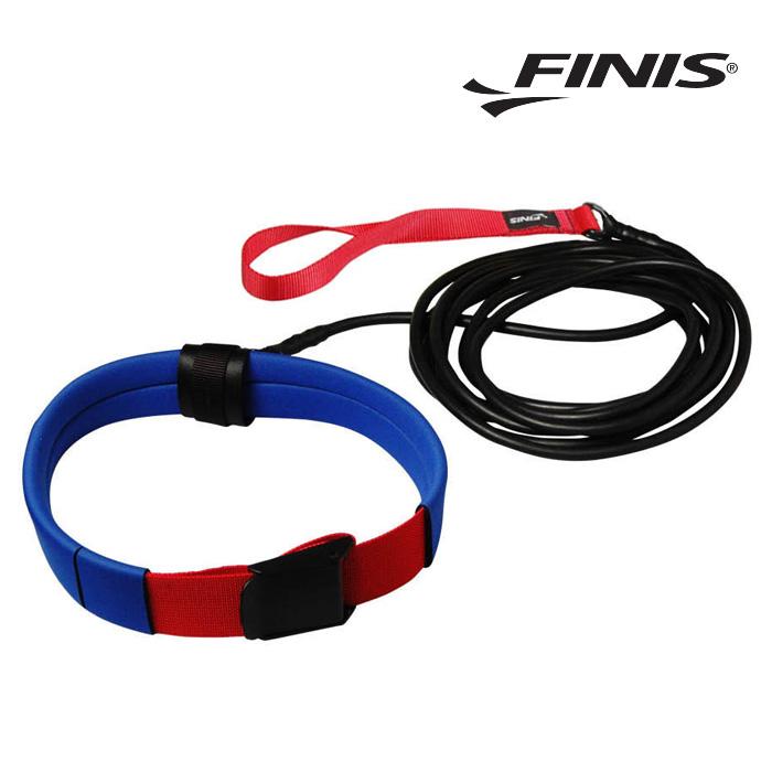 숏벨트 코드 FINIS 피니스 저항 훈련용 코드-빨강