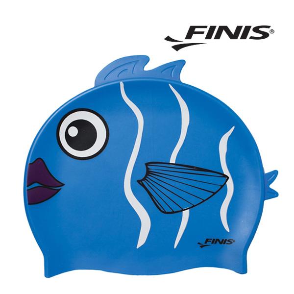 피니스 물고기 실리콘 아동 수모 (파랑)