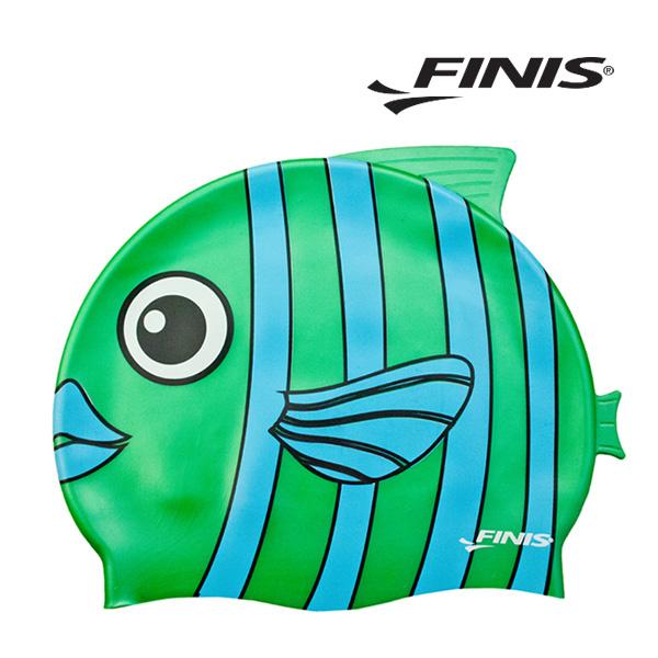 피니스 물고기 실리콘 아동 수모 (초록)