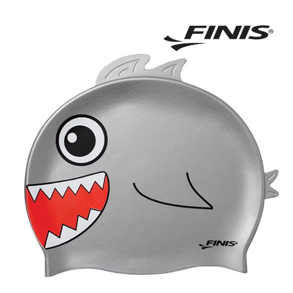 피니스 물고기 실리콘 아동 수모 (은색)