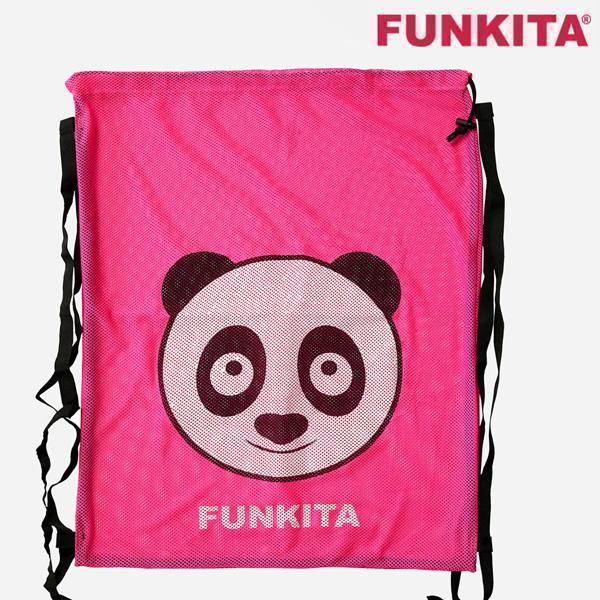 FKG010A00481-Aqua Panda 펑키타 메쉬 장비 가방 수영용품