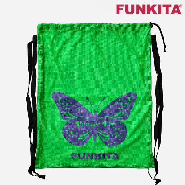 FKG010A01870-Pretty Fly 펑키타 메쉬 장비 가방 수영용품