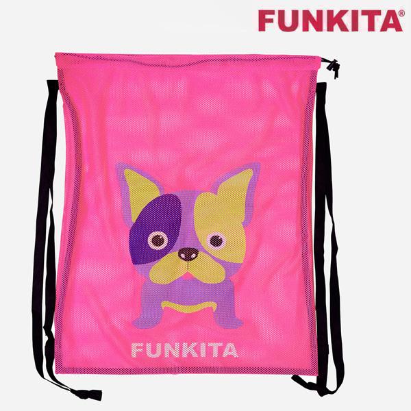 FKG010A01887-Pooch Party 펑키타 메쉬 장비 가방 수영용품