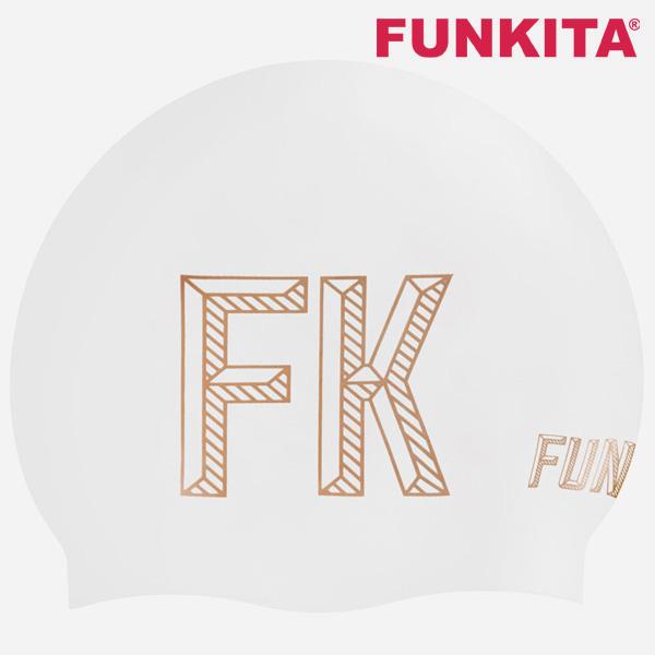 FKG013N70902-Stencilled White 펑키타 실리콘 수모