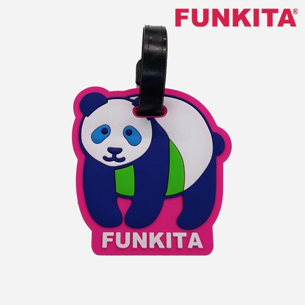FKP023N02549-Character Tag-Pink Panda 펑키타 FUNKITA 캐릭터 고리 수영용품