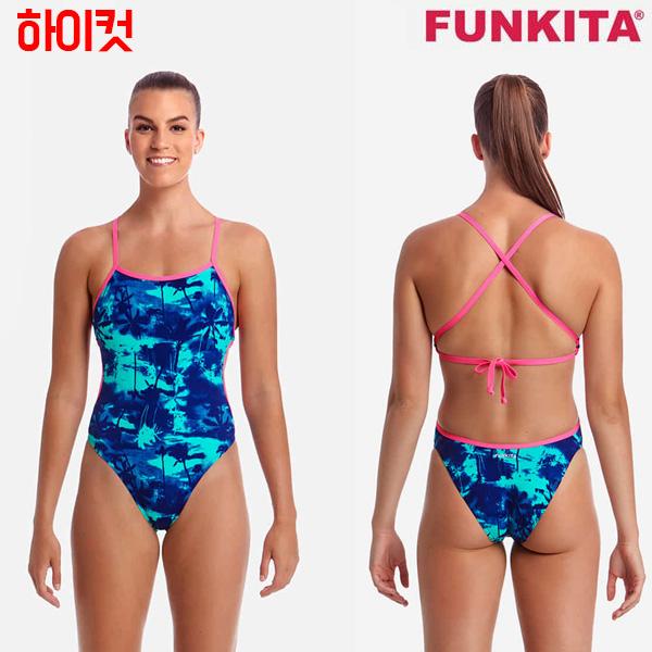 FKS004L02416-Hawaiian Skies 펑키타 FUNKITA 원피스 탄탄이 수영복
