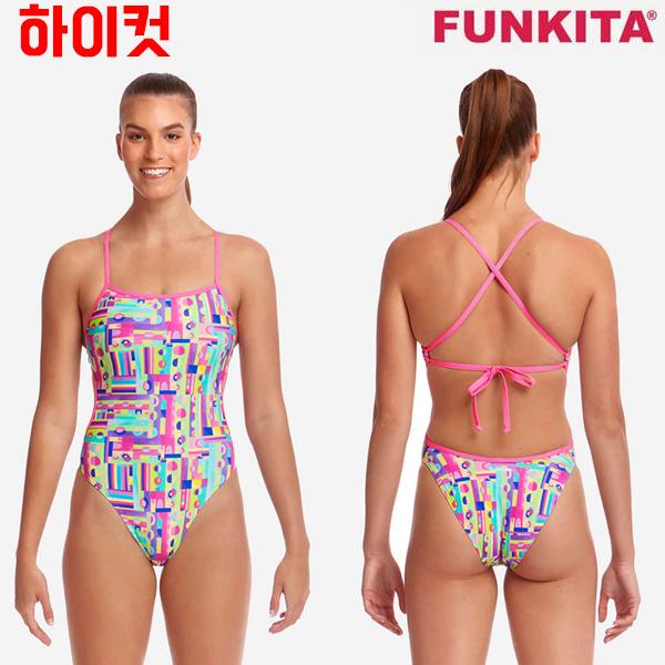 FKS004L02542-Jiggy Saw 펑키타 FUNKITA 탄탄이 원피스 수영복