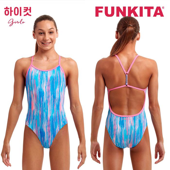 FKS010G70910-Drip Feed 펑키타 FUNKITA 원피스 탄탄이 수영복