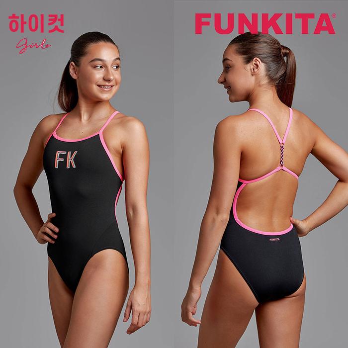 FKS010G71146-FK Pink 펑키타 FUNKITA 원피스 탄탄이 수영복