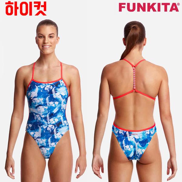 FKS010L02206-Head First 펑키타 탄탄이 원피스 수영복