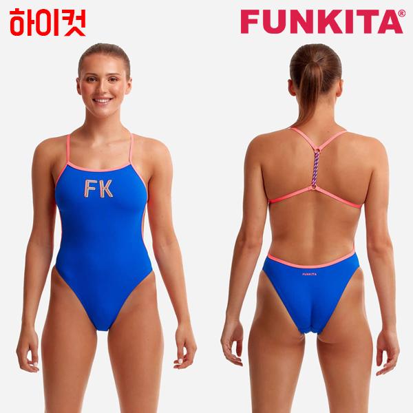 FKS010L70971-FK Blue 펑키타 FUNKITA 원피스 탄탄이 수영복