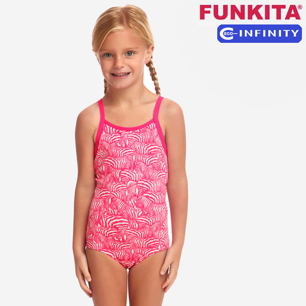 FKS022G02508-Painted Pink 펑키타 FUNKITA 주니어 탄탄이 원피스 수영복