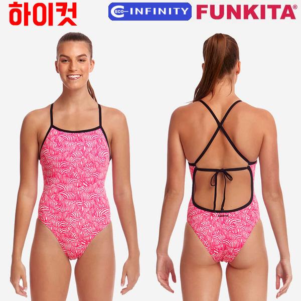 FKS036G02508-Painted Pink 펑키타 FUNKITA 탄탄이 원피스 수영복
