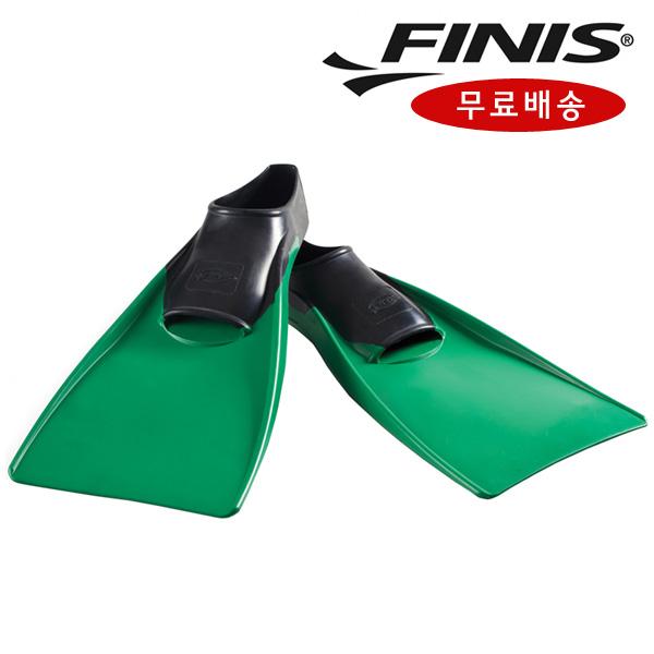 FINIS 피니스 통고무 오리발 녹색