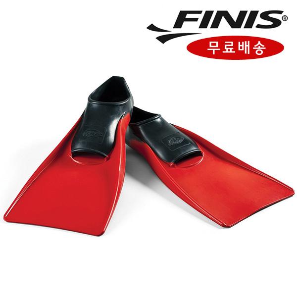 FINIS 피니스 통고무 오리발 빨강