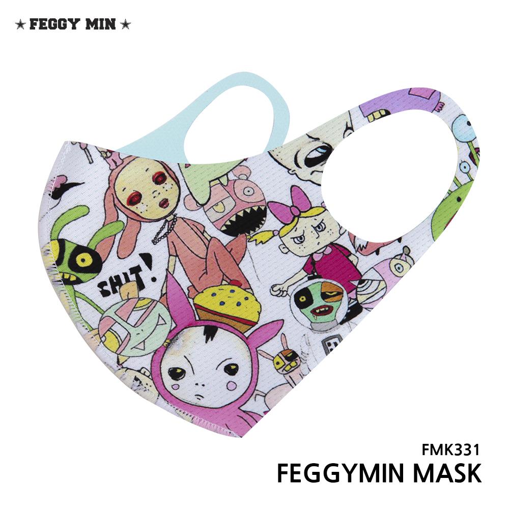 페기민 3D입체 향균 마스크 여름마스크 FMK331