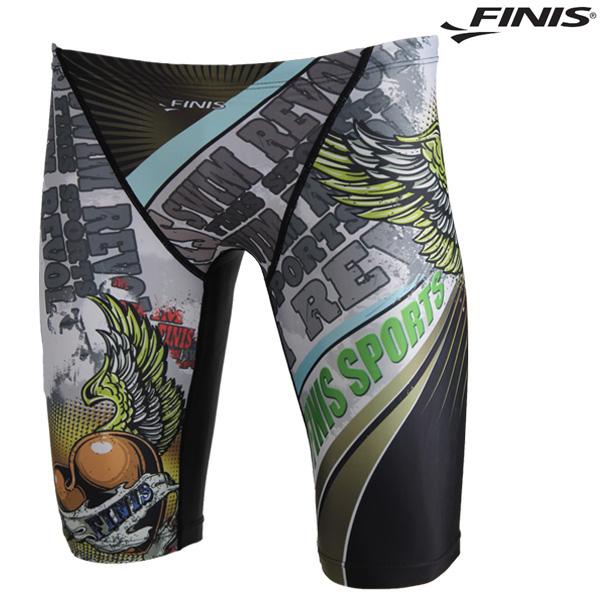 FMQ-2122-GRN 피니스 FINIS 남성 5부 수영복