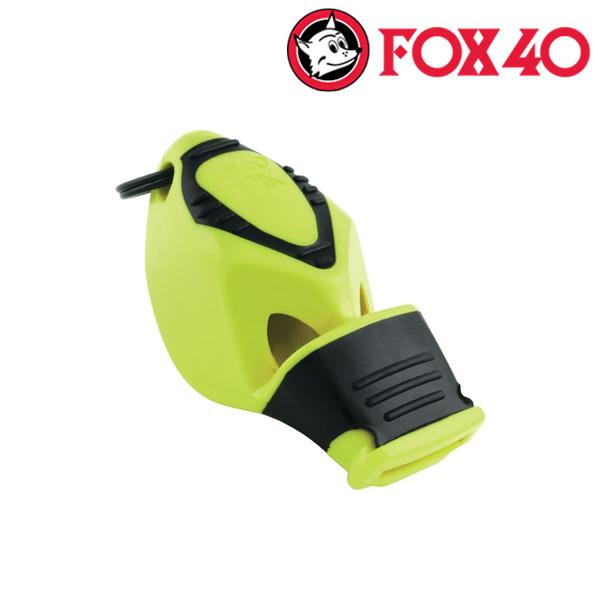 FOX40(금우) EPIK CMG 줄포함-네온옐로우