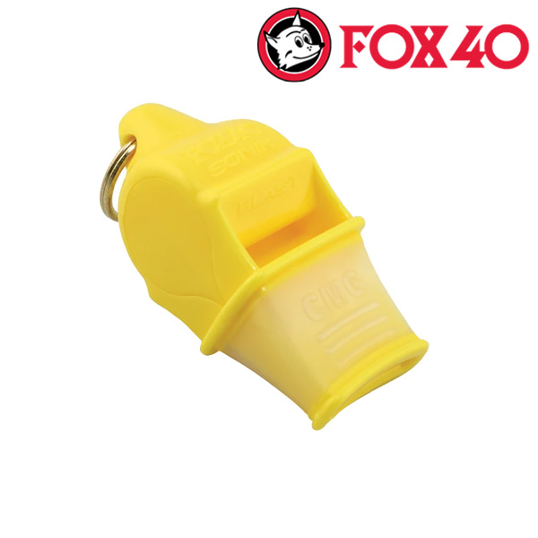 FOX40(금우) SONIK BLAST CMG 줄포함-옐로우