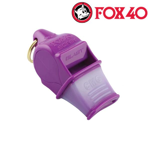 FOX40(금우) SONIK BLAST CMG 줄포함-퍼플